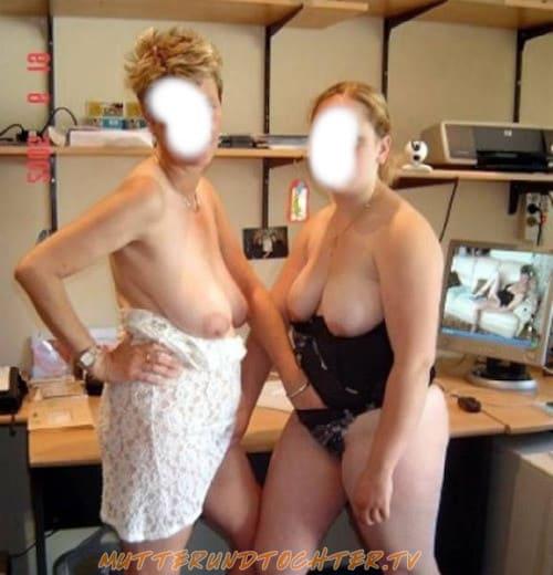 Perverse Sextreffen mit Mutter und Tochter
